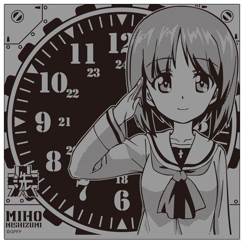 西住みほ 卓上時計 ーかわいい時計ですねっ(CV秋山優香里)ー