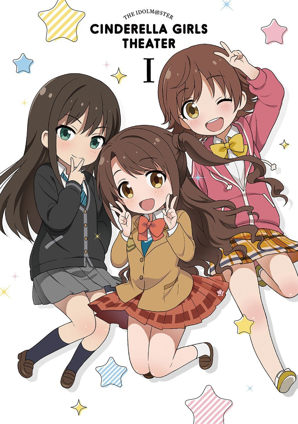 アイドルマスターシンデレラガールズ劇場 BD 第一巻
