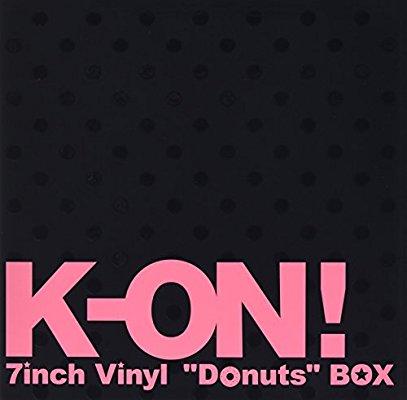 """【けいおん!レコード盤】 ーレコードの中の軽い音楽ー 【K-ON!  7inch Vinyl """"Donuts"""" BOX】"""
