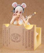 すーぱーそに子 【1/7スケール】 ―チーズを食べるマウス―  【フィギュア】