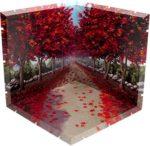 【ジオラマ】 【紅葉並木】 ―紅葉揺れる秋の夕暮れ―