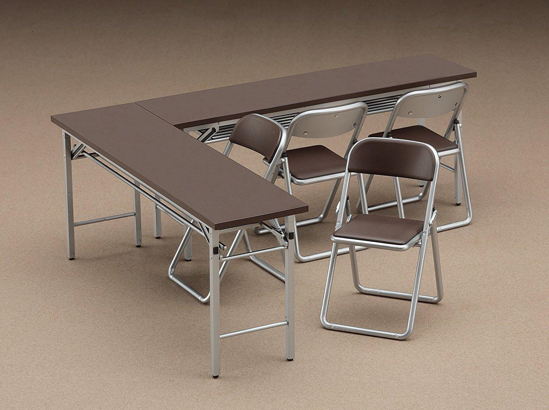 ハセガワ 【机と椅子】 【1/12スケール】 ―即売会スタイル― 【ジオラマ】